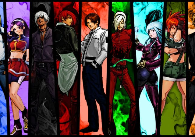 The King of Fighters All Star personnages