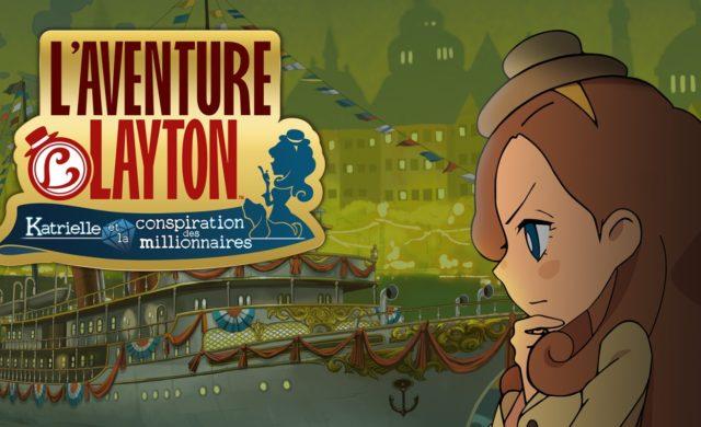 Professeur Layton et l'Étrange Village : une nouvelle aventure avec Katrielle et la conspiration des millionnaires