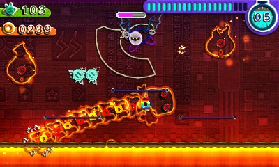 Kirby: Au fil de la grande aventure - Meta Knight taillade