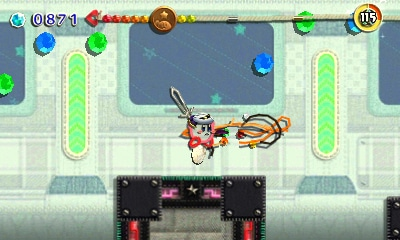 Kirby: Au fil de la grande aventure - Trico-talent épée