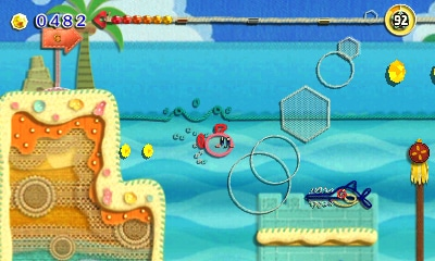 Kirby: Au fil de la grande aventure - Kirby sous l'eau