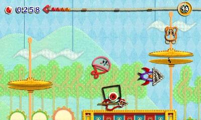 Kirby: Au fil de la grande aventure - Kirby en parachute