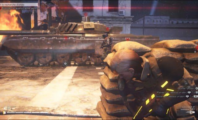 Left Alive planque tank