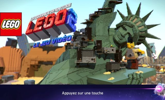 La Grande Aventure LEGO 2 : le jeu vidéo page d'accueil du jeu