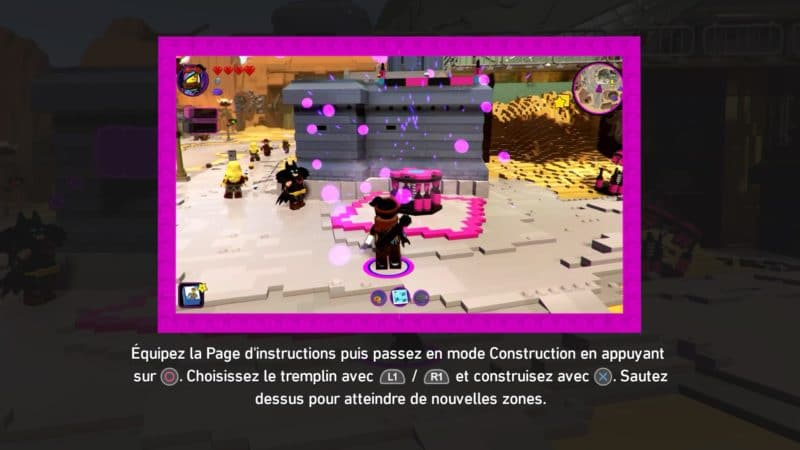La Grande Aventure LEGO 2 : Le Jeu Vidéo Lucy crée un trampoline