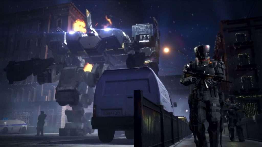 Left Alive screenshot patrouille wanzer