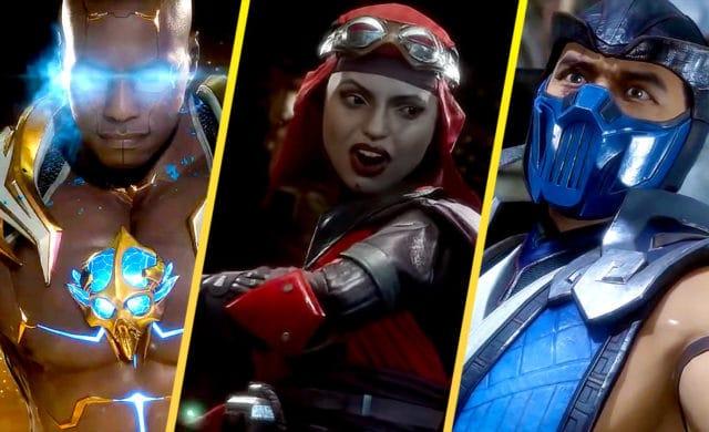 Mortal Kombat XI Jax skarlet  Sub Zero