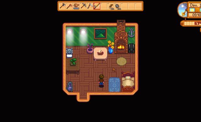 stardew valley intérieur maison