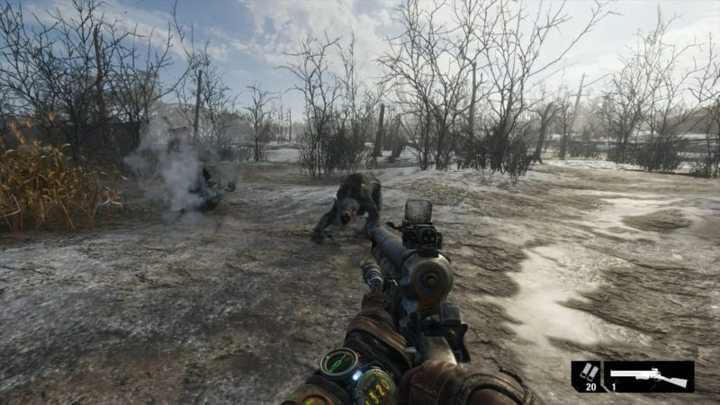 test metro exodus créatures fight