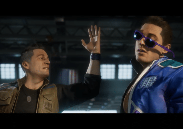 Mortal Kombat 11 - Johnny Cage baffe son passé