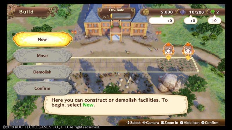 nelke & the legendary alchemists construction