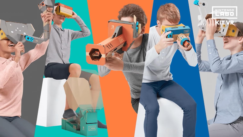 Nintendo Labo - VR activités plan montage