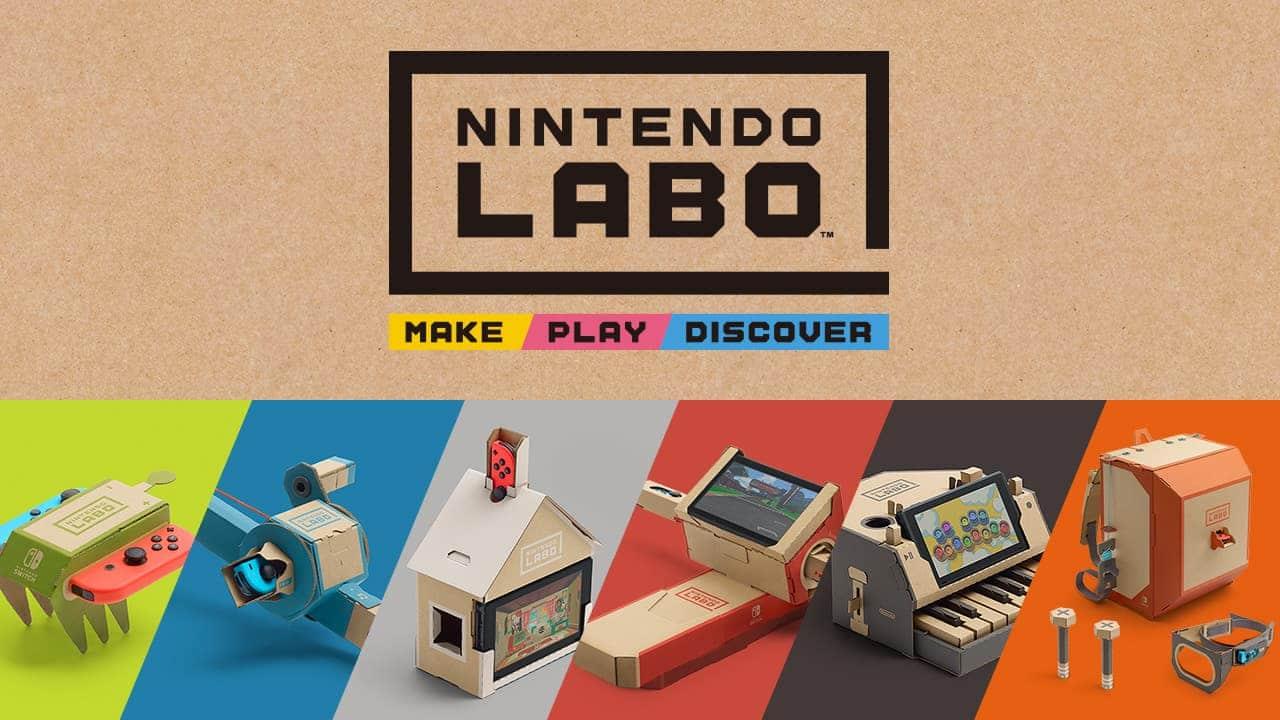 Nintendo Labo - jeux en carton