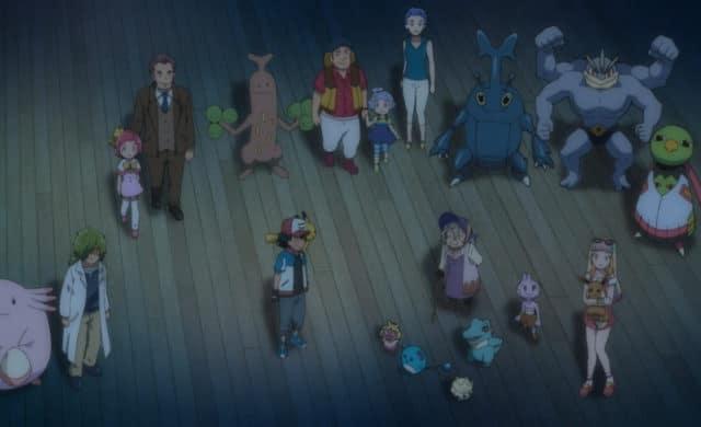 Pokémon le film - Le pouvoir est en nous - La fine équipe
