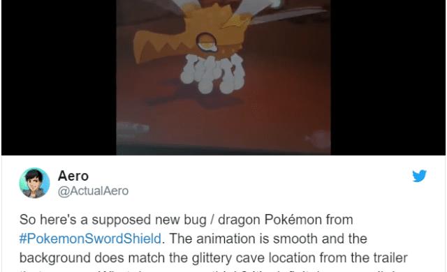 Pokémon Épée et Bouclier - Nouveau Pokémon