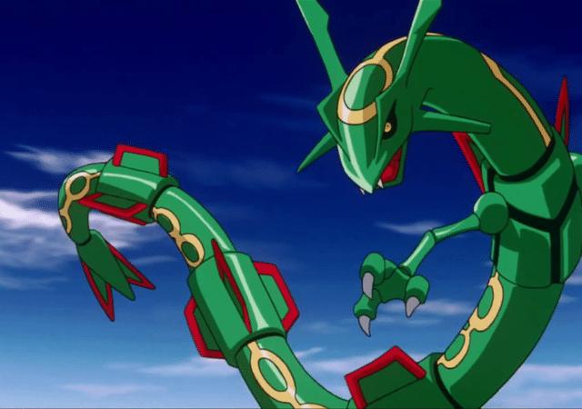 Pokémon GO - Rayquaza is back