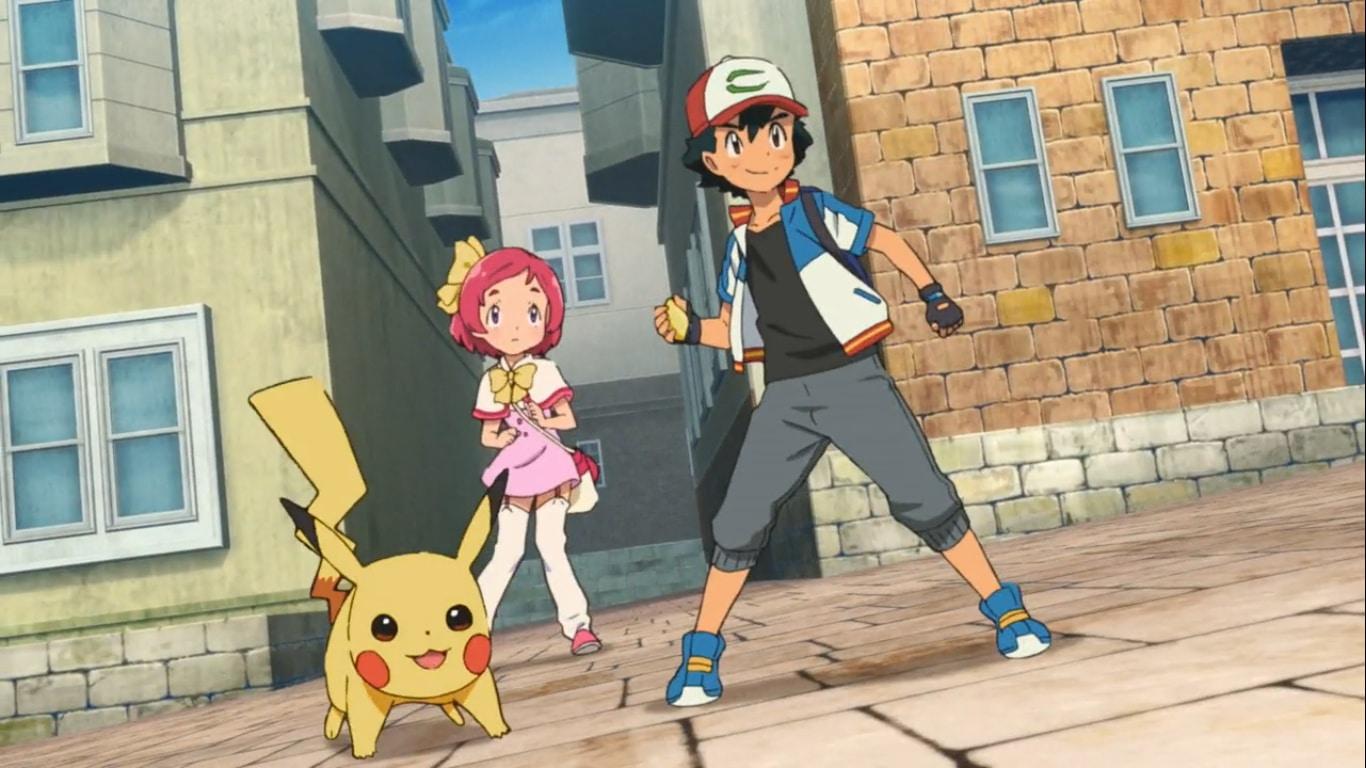 Pokémon le film - Le pouvoir est en nous - Sacha et Pikachu sauvent Margo
