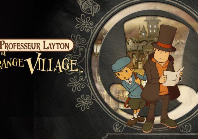 Professeur Layton et l'Étrange Village la première enquète de Layton et Luke
