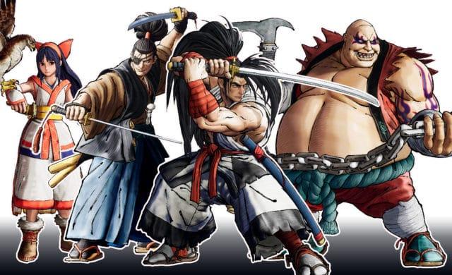 Samurai Shodown personnages