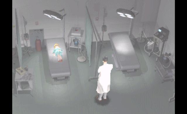 Parasite Eve screenshot flashback docteur