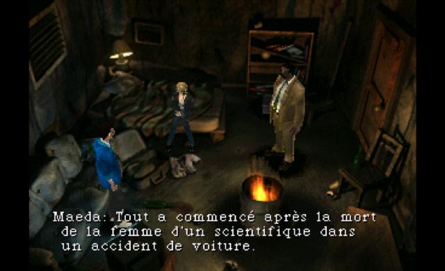 Parasite Eve PS1 Screenshot résumé ingame partie 1