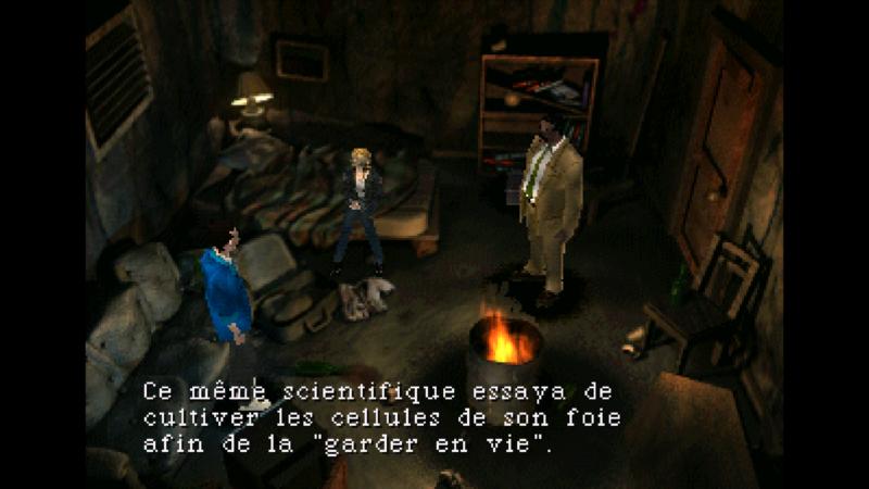 Parasite Eve screenshot resumé ingame partie 2
