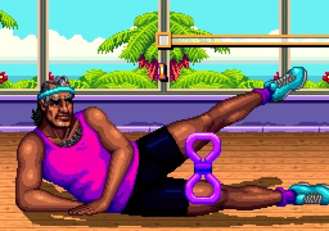 Shakedown: Hawaii cinématique pixels gym