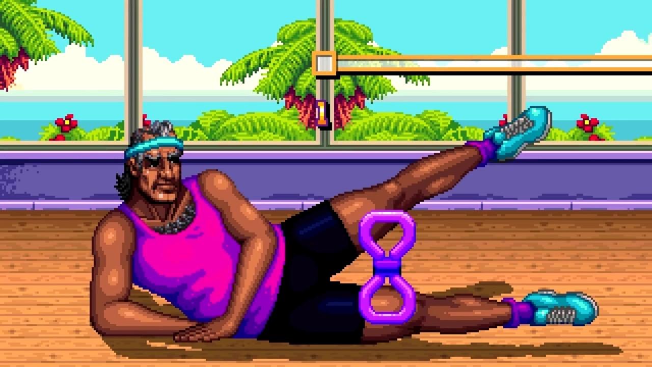 Shakedown: Hawaii cinématique pixels gym