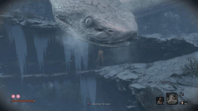 Sekiro - Serpent géant