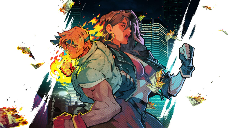 Streets of Rage 4 illustration box art