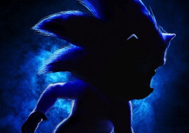 Sonic le film affiche