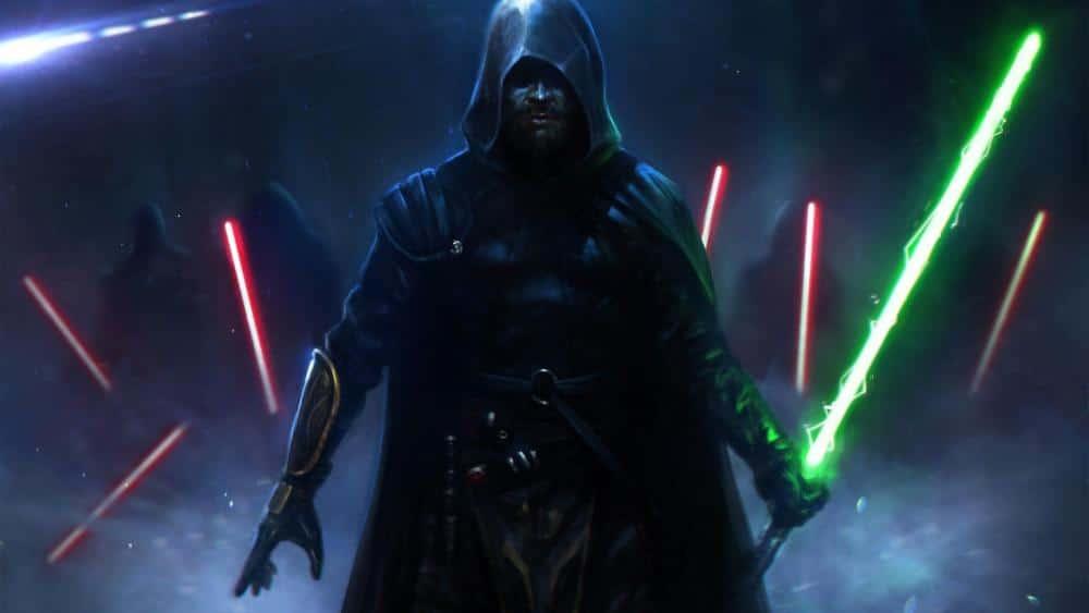 Star Wars Jedi: Fallen Order - Jedi au sabre vert