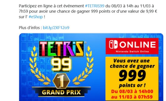 Tetris 99 grand prix online