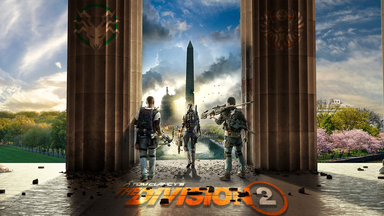 test the division 2 artwork + logo
