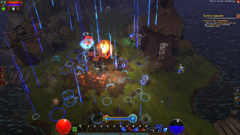 Torchlight II - Pluie de magie