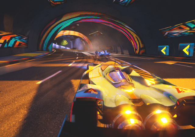 Xenon Racer - Screenshot course