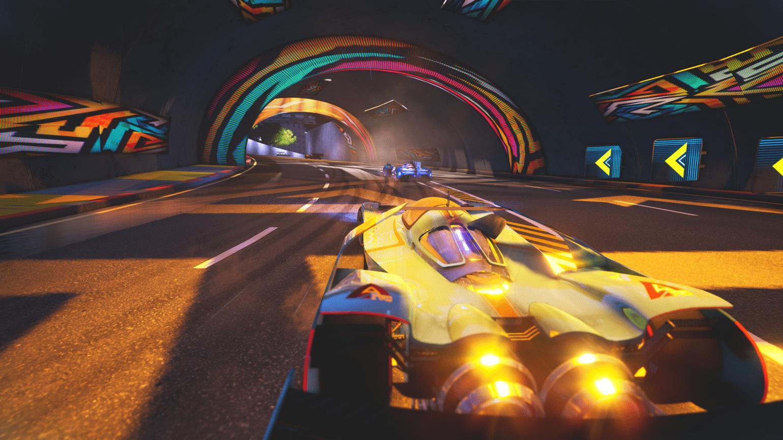 Xenon Racer - Screenshot course