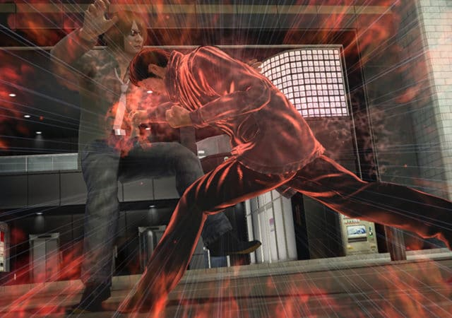 Yakuza 5 remaster PS4 streetfight