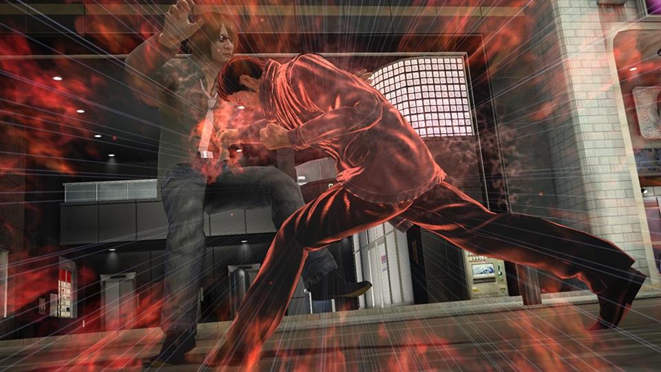Yakuza 5 remaster PS4 streetfight