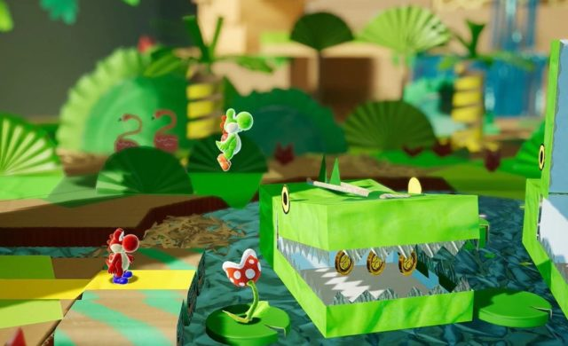 Yoshi's Crafted World 2 joueurs