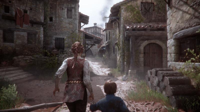 a plague tale innocence village