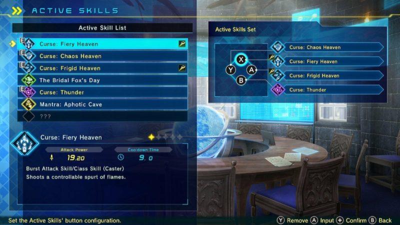 fate extella link skills