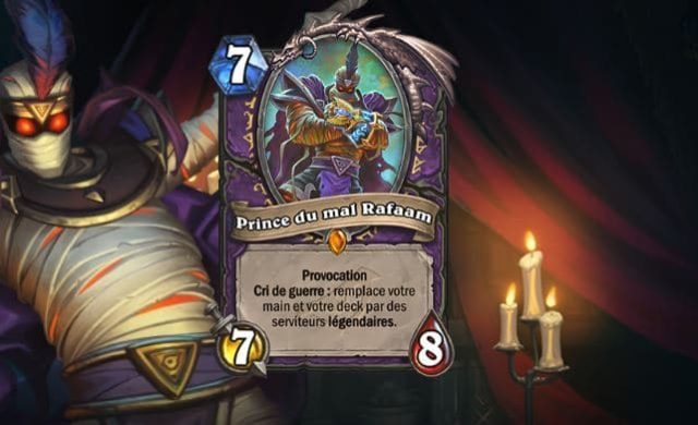 hearthstone eveil des ombres raafam