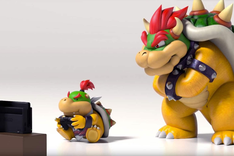 Nintendo Switch Online illustration bowser bowser jr