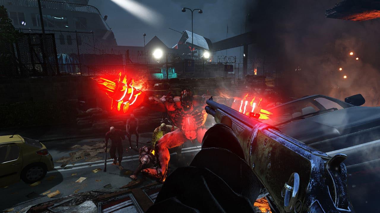 Killing Floor: Double Feature combat shotgun