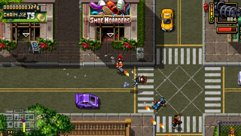 Shakedown: Hawaii screenshot street