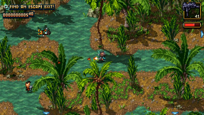 Shakedown: Hawaii screenshot jungle