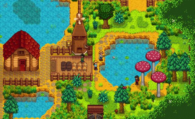 stardew valley ferme forestière