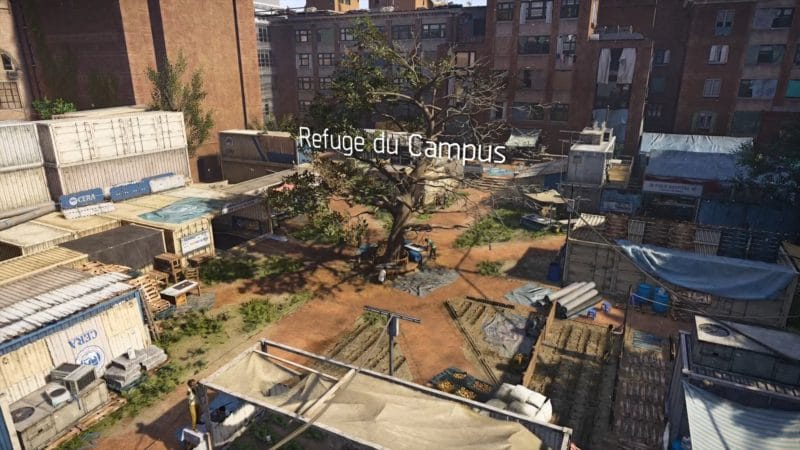 test the division 2 refuge campus