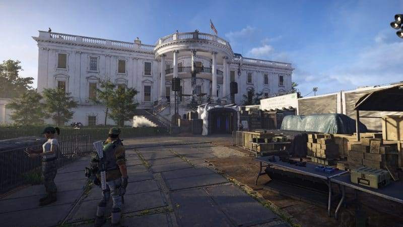 test the division 2 maison blanche